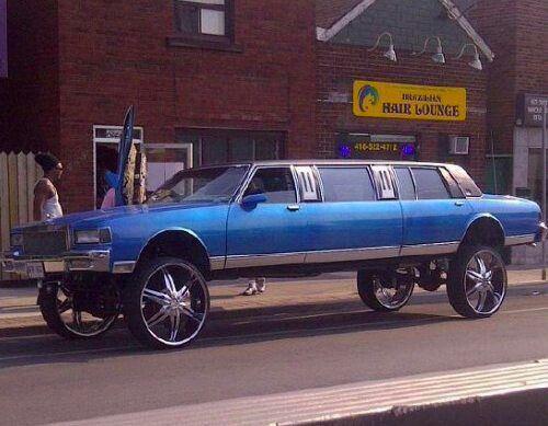 ghetto limo