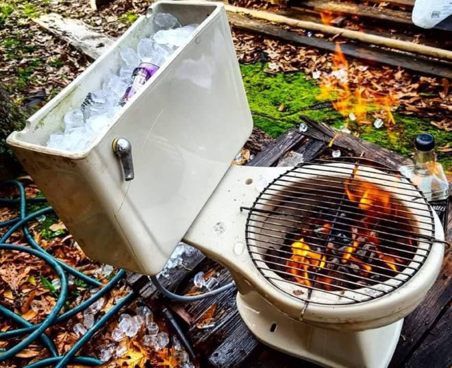 toilet grill